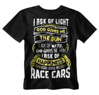 Wholesale race car parts for sale - GOD GIVES ME RACE CARS PRAYER T shirt Black JDM Mechanic NHRA Tool Racing Parts