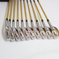 11 golfe venda por atacado-Novos clubes de golfe HONMA S-06 4star Ferros de golfe set 4-11.Aw.Sw HONMA IS-06 ferros Clubes de golfe Eixo de grafite