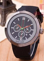 Wholesale band nice - Top Men Quartz Watch Fashion women Swiss Watches Sport Date high quality Wristwatches AAA top design Nice clock rubber band