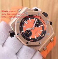Wholesale K Series - 6 color 2018 latest version AAA Brand watches OFFSHORE JQ 3209 series 42 mm 18 k gold Mechanical automatic High Quality Mens Watches