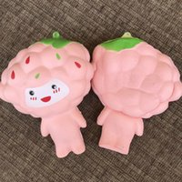 Wholesale cute charms for sale - Cute Slow Rising Squishy Fruit Shape Grape Baby Squishies For Adult Cell Phone Charm Factory Direct Sale 7mn CB