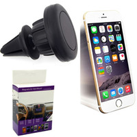 Wholesale vent tablet mount for sale - Group buy Universal Air Vent Magnetic Car Mount Holder for Cell Phones and Mini Tablets with Fast Swift Snap Technology Magnetic Cell Phone Holders
