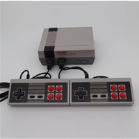Wholesale handheld game system tv online - Coolbaby Mini TV Video Handheld Game Console Games Bit Entertainment System For Nes Classic Games Nostalgic Host Cradle