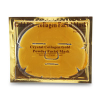 Wholesale powder masks for sale - Group buy 100pcs Top Selling Gold Bio Collagen Facial Mask Face Mask Crystal Gold Powder Collagen Facial Masks Moisturizing Anti aging