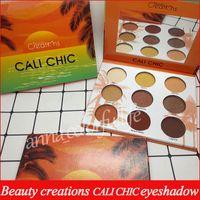 Wholesale chic wear - Beauty creations eyeshadow CALI CHIC CALI GLOW 9 colors eye shadow palette
