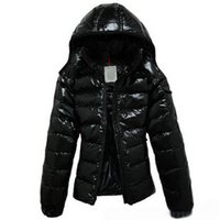 ingrosso giù parkas per le donne-Piumino donna Monkler Down Cappotti Piumino donna Parka Outdoor Warm Feather dress Cappotto invernale Capispalla