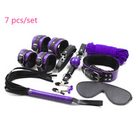 Wholesale harnesses men bdsm for sale - Group buy Sex Tools For Sale set PU Leather Adult Sex Toys BDSM Fetish Bondage Restraint Harness Set Slave Sex Game For Men Women Y18102405