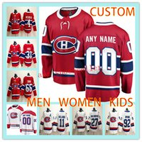 e7785a8ab73 Custom Hockey Jersey MONTREAL CANADIENS MEN WOMEN KIDS any name number 27  Alex Galchenyuk 92 Jonathan Drouin 31 Carey Price hockey jerseys