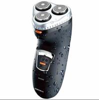 водонепроницаемые бритвы мужчины оптовых-электробритва бритва аккумуляторная водонепроницаемый моющийся бритва мужская электрический 3 головки бритвы тройной лезвие RSCX-5085 серый, черный