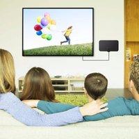 mini dvb t tv digital venda por atacado-Indoor Digital TV Antena Raio TV Surf TV Antena Fox HD Antenas Receptor Amplificador Mini DVB-T / T2 Antena
