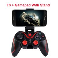 box für tabletten großhandel-2019 Hot Terios T-3 T3 Android Drahtlose Bluetooth Gamepad Gaming Fernbedienung Joystick BT 3.0 für Android Smartphone Tablet PC TV Box