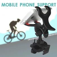 suporte para bicicleta venda por atacado-Apoio de navegação de veículo de bicicleta telefone celular suporte carro de bateria elétrica bicicleta de montanha que monta equipamento de lanterna elétrica