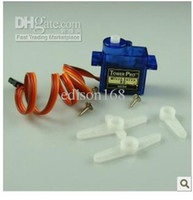 partes hubsan al por mayor-Nuevo 10X SG90 9g Mini Micro Servo para RC Airplane Car Boat Niños kid regalo de juguete TH001