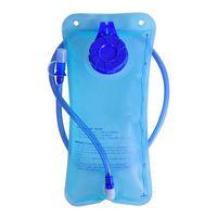 sistema de hidratação bladder backpack venda por atacado-Novo 2L Água TPU Dobrável Saco de Bexiga Mochila Sistema De Hidratação Para Caminhadas Ao Ar Livre Equipamento de Hidratação Camping
