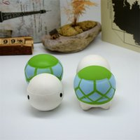 Wholesale Turtle Bags Wholesale - Cartoon Turtle Squishy Decompression Toys Soft Squishies Animal Shape Adult Venting Kid Gift Hot Sale 10 7sy C