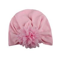 ingrosso children s photo props-cappello per bambini Bohemian India berretto per fotografia puntelli neonato Pointed Flower Hollow bambino accessori foto baby bonnet enfant