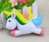 Wholesale Cute Decor - 12cm Cute Unicorn Squishy Squeeze Relieve Stress Slow Rising Kid Toy Decor Gift