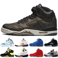 neue china schuhe groihandel-Günstige New 5 5s Wings International Flug Mens Basketball Schuhe Rot Blau Wildleder Low Neymar China Männer Sport Turnschuhe Designer Trainer 7-13