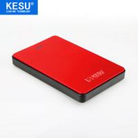 pc sabit diskler hdd toptan satış-KESU 2.5 '' Harici Sabit Disk 80 GB 120 GB 160 GB 250 GB 320 GB 500 GB Depolama USB2.0 HDD PC için Taşınabilir Harici HD Sabit Disk / Mac