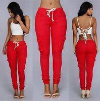 Wholesale patchwork womens denim jeans - Brand designer Women girl ladies Sexy Clothes Leggings Pants Trousers Fashion Skinny Pencil Denim pants Womens Leggings Jeans