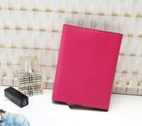 vs sırlar toptan satış-2018 YENI 3 Katlı Pasaport Çantası Gizli Seyahat Pasaport Kredi KIMLIK Kartı Nakit Tutucu Cüzdan çanta Çanta Vs Seyahat Pasaport Kapağı