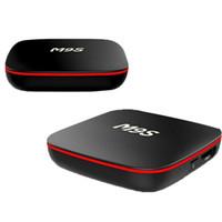 Wholesale set top boxes online - Factory Sale M9S X10 New MXQ Pro K Smart Android TV Box Rockchip RK3229 Quad Core Google Set Top Box Media Player