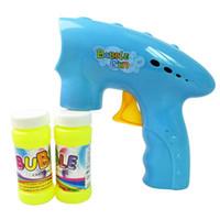 Wholesale machine gun cartoon - Bubble gun Set Children Educational Toys Fun Color Cartoon Bubble Toy Machine Outdoors games toys for children A1