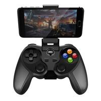 usb gamepad para android venda por atacado-iPega PG-9078 Sem Fio Bluetooth Joystick Gamepad Controlador de Jogo Ajustado Titular para Android / iOS Tablet PC Para Ps Dualshock 4
