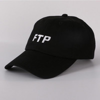 av kızı toptan satış-FTP beyzbol şapkası snapback hip hop baba şapka drake erkek kadın kamp avcılık açık yaz erkek kız vizör plaj güneş şapka kemik kamyon şoförü caps