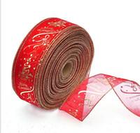 ingrosso artigianato decorativo di natale-6.3cm * 200cm