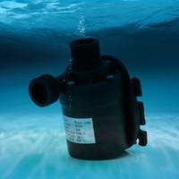 ingrosso dc motori pompe ad acqua-Pompe idrauliche sommergibili di pompa di circolazione dell'acqua del motore senza spazzola solare di 800L / H 5m DC 12V 24V