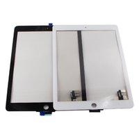 ремонт планшетов ipad оптовых-5pcs/lot  2 A1566 A1567 Digitizer Touch Screen Sensor Glass Black White Replacement Tablets Repair Parts