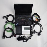 Wholesale automotive analyzer for laptop online - mb star c5 sd connect with soft ware with cF laptop for benz c5 tool diagnose ready to use
