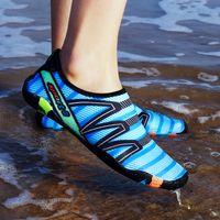 Wholesale quick dry medium - Men and Women's Fashion Water Shoes Quick Dry Lightweight Barefoot Aqua Sneakers for Men Women Surfing Swim Walking Yoga