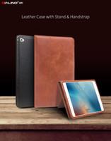 ups apple ipad toptan satış-Fabrika Promosyon L S 3025 lüks Deri akıllı standı kapak çevirin iPad mini 4 için kılıf Stentler Otomatik uyandırma uyku fonksiyonu ...