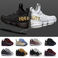 Wholesale ghost plush - James 15 Black Gum Basketball Shoes AshesBHM Ghost Cavs City Edition Pride of OhioGraffitiSports Floral 15s EQUALITY Sneakers Training