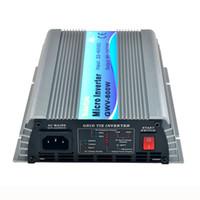 inversor de onda sinusoidal de 24v al por mayor-Pure Sine Wave 600W DC22V-60V a AC110V 220v Grid Tie MPPT inversor uso para 24V / 36V 60cells / 72cells panel solar
