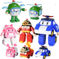 Wholesale truck 11 - Funny version of taxi vehicle deformation robot city rescue team aircraft fire truck model deformation car robot.