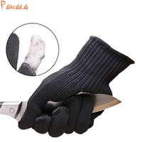 Wholesale safety wire mesh resale online - 1pair Anti cut Gloves Safety Cut Proof Stab Resistant Cut Resistant Safety Gloves Stainless Steel Wire Metal Mesh Butcher