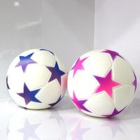 Wholesale doll silicone child - 2018 Russia World Cup Football Squishy Slow Rising Toy New Style Squishies Children Decompression Squeeze Toys Foam Doll 15fd Y