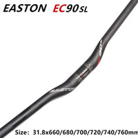Wholesale bike mtb - EASTON EC90sl mtb bicycle full carbon fiber Riser bike handlebar MTB bicycle handlebars 31.8* 680 700 720 740 760mm
