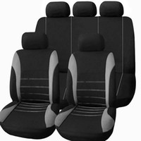Wholesale blue seat covers for cars resale online - Universal Car Seat Cover seat Full Seat Covers for four seasons general Auto Interior Accessories Full Cover Set for Car Care