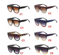 1b0943e13f Wholesale- Fashion Ladies Oversized Cat Eye Sunglasses Women Vintage Luxury  Brand Designer Big Frame Sun Glasses Tom Female Oculos UV400