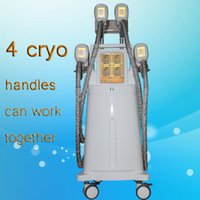 Wholesale led light therapy equipment - 2018 new china fat freezing machine for abdomen flanks fat removal cryolipolysis fat freezing equipment red LED photon light therapy