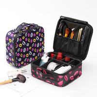 Wholesale cosmetics vanity bags resale online - Professional Vanity Cosmetic Bag Organizer Women Travel Make Up Cases Big Capacity Cosmetics Suitcases For Makeup JXSLTC Neceser