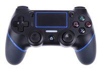 kablolu oyun denetleyicisi toptan satış-PS4 Oyun Denetleyicisi için tek parça USB Kablolu Kontrolörleri Gamepadler PlayStation 4 Konsolu Oyuncular için Titreşim Kablolu Joystick Değil Kablosuz