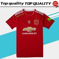 Wholesale u s shorts - 2019 La U Los Leones El Bulla red Soccer Jersey 18 19 La U red Soccer Shirt Los Leones football uniform Sales El Bulla
