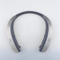 bluetooth zil sesleri toptan satış-HBS W120 Bluetooth Kablosuz Kulaklıklar En Kaliteli KSS 4.1 Boyun Bandı Spor Kulaklıklar Kulaklıklar Mic Hoparlörler Ile Yeni Varış Için LG TONE
