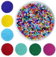 semillas checas al por mayor-1000 Unids / lote 2mm Cuentas de Semillas de Cristal Checo Suelta Miyuki Espaciador Hama Perlas Para La Joyería DIY que Hace Perles Berloque