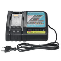Wholesale tools for batteries - 3A Li ion Battery Charger Replacement for Makita power tool Electric Screwdriver DC18R RA BL1830 V V